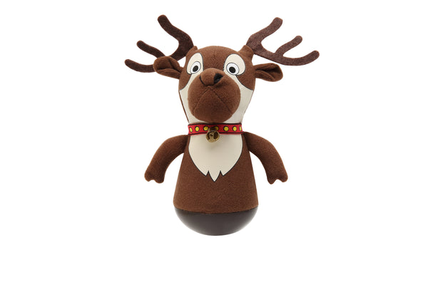 Holiday Rock'emz Reindeer Collectible Figurine