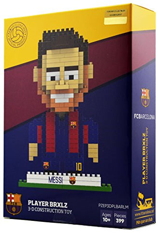 BRXLZ FC Barcelona Player - Lionel Messi #10 - 3D Construction Toy