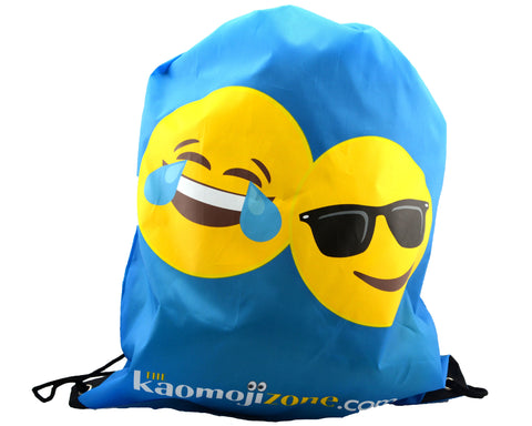 Kaomoji Drawstring Bag