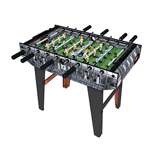 Minigols Real Madrid Foosball Table with 11 Real Madrid and 11 Barcelona Figures