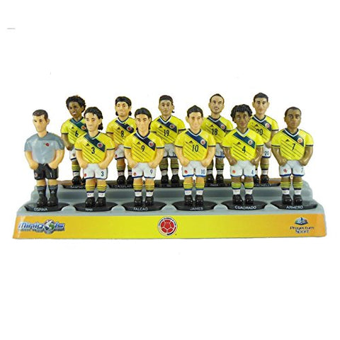 Minigols Colombia National Team Figurines (11 Pack)