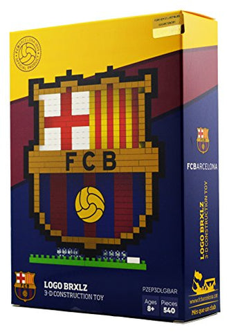 BRXLZ Barcelona FC Team Logo 3D Construction Toy