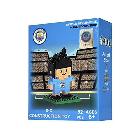 BRXLZ Manchester City FC Mini Player 87 Piece 3D Construction Toy