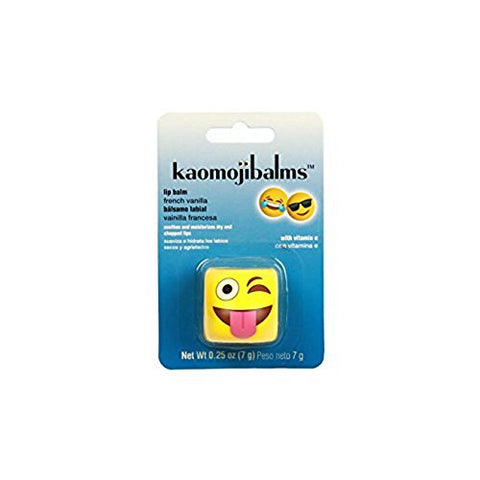 Kaomojibalms 4 Pack Balms - 1 French Vanilla - 2 Cherry Pom and 1 Frosted Mint - 4