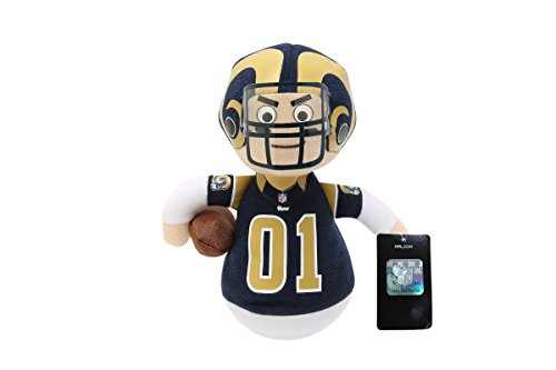 NFL Rock'emz Collectible Sports Figurine - 7 in. tall (Los Angeles Rams)