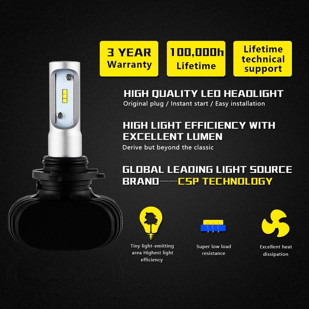 NIGHTEYE A315 8000LM 50W 9006 HB4 LED Car Headlight