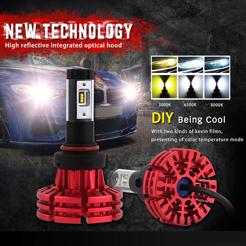 NOVSIGHT A344 Philip 60W 10000LM 9006 LED Car Headlight