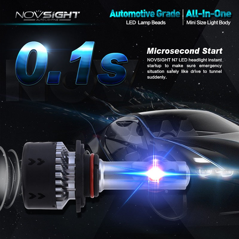A385-N7 LED Headlight Bulbs