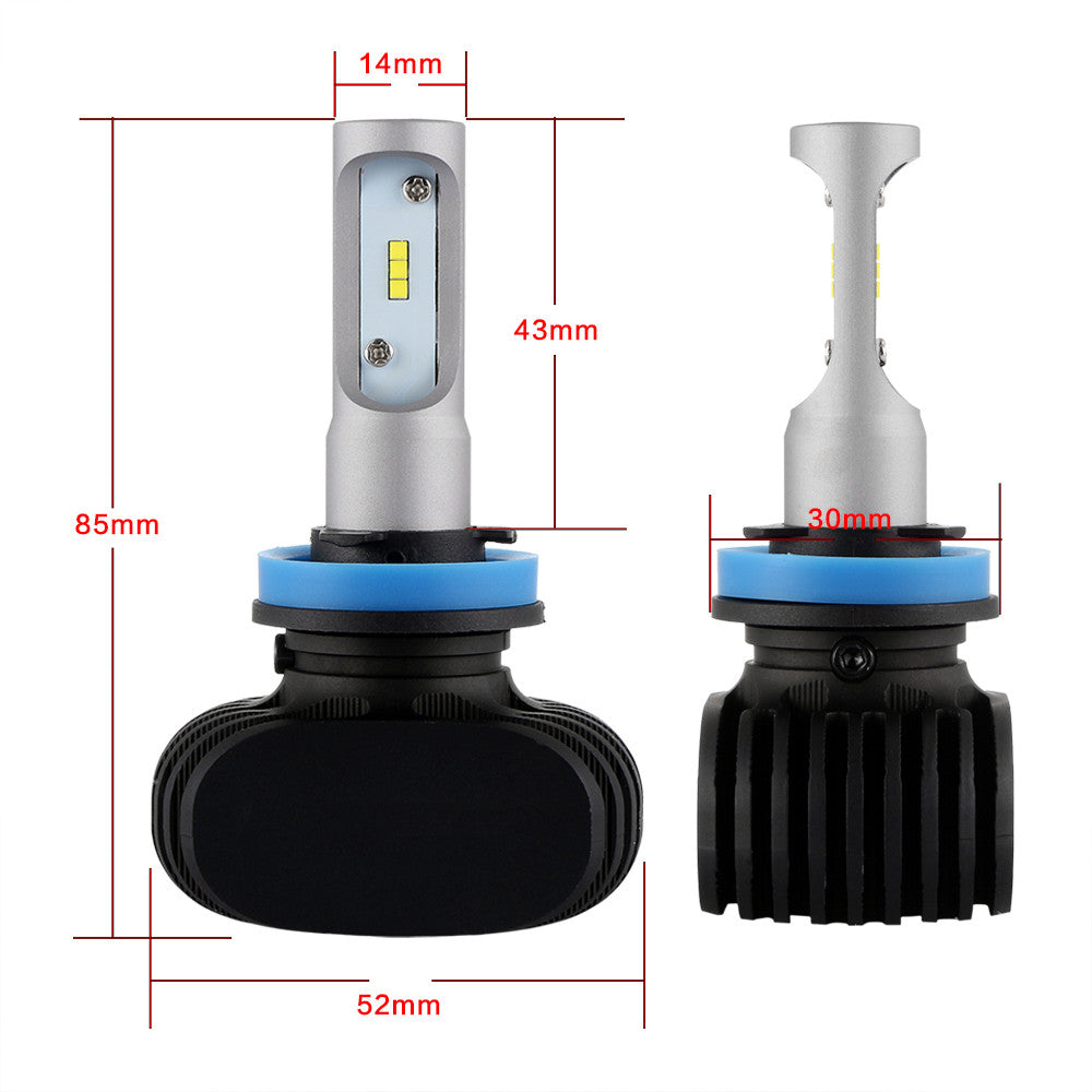 NIGHTEYE A315 H11 8000LM 50W LED Car Headlight