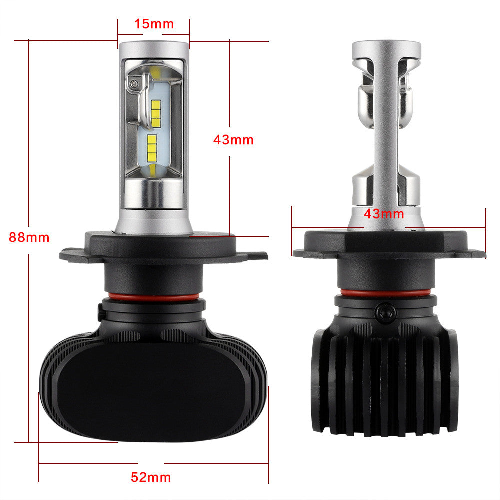 NIGHTEYE 8000LM 50W LED Light Car Headlight Bulb Lamp