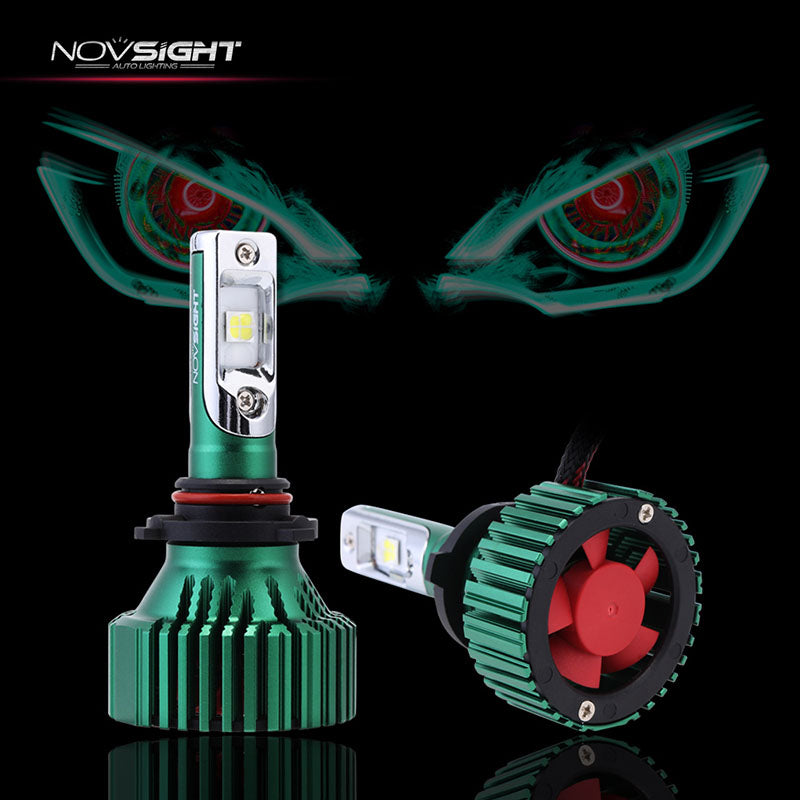 NOVSIGHT 9005 HB3 LED Headlight Light Bulbs White 60W 16000LM - CREE LED Chips