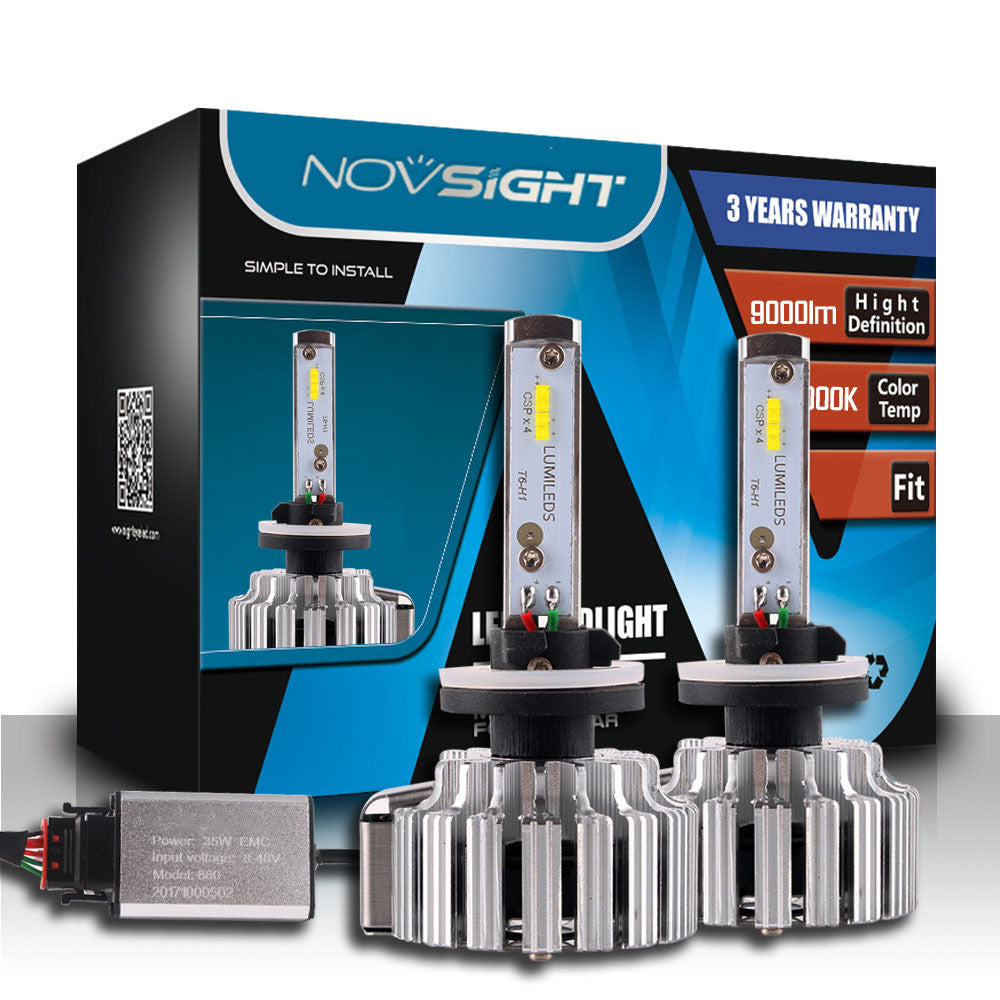 NOVSIGHT A333 9000LM 70W  Car LED Headlights