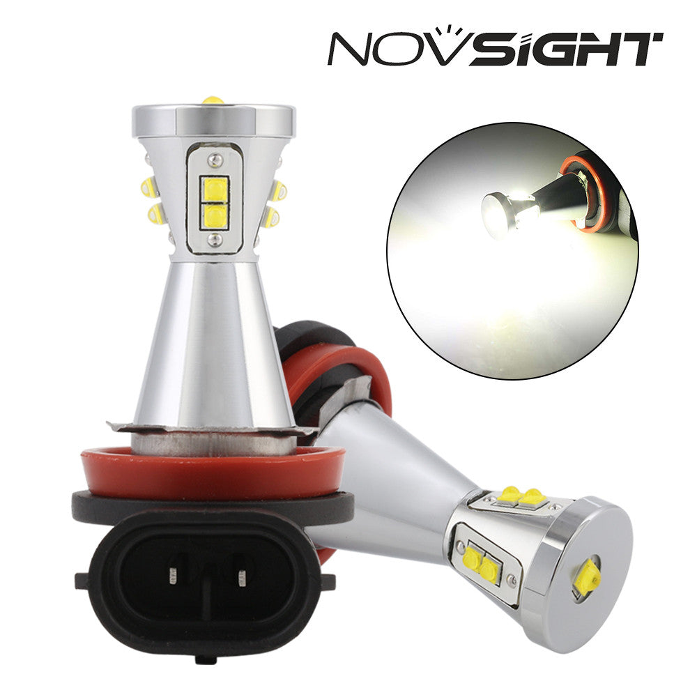 2017 NOVSIGHT A361 New Arrival LED FOG Light 90W 1500LM H11 High Qualify