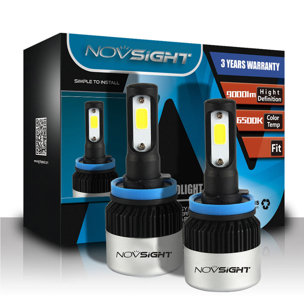 NOVSIGHT A315 72W 9000LM H11 LED Car Headlight