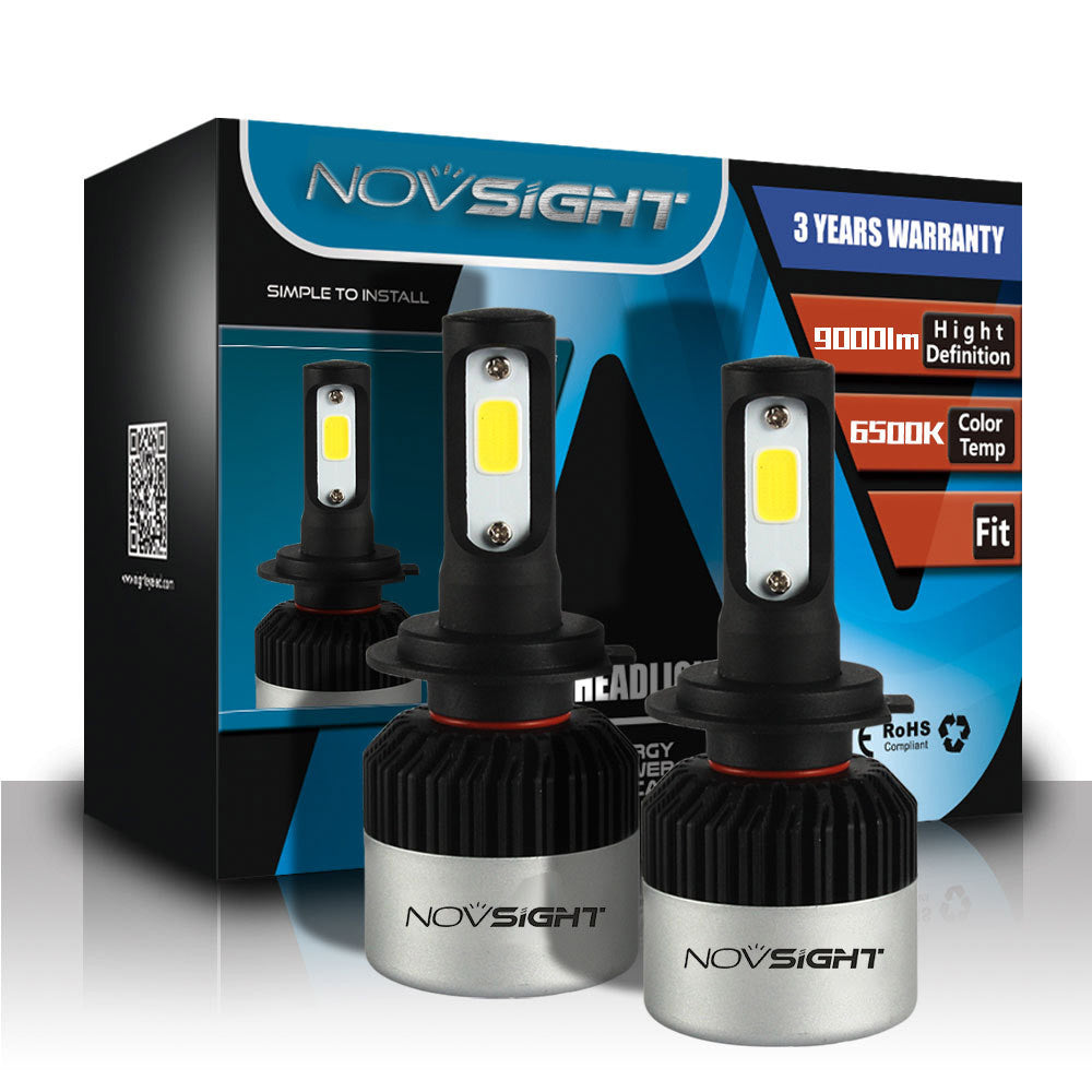 NOVSIGHT A315 72W 9000LM H7 LED Car Headlight