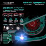 Novsight High Lumen & Qulity Led Headlight Light Bulbs White 60W 16000Lm - Cree Chips