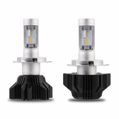 NOVSIGHT H4/HB2/9003 LED Headlight Light Bulb Dual Color White&Yellow 40W 8000LM
