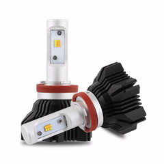 NOVSIGHT LED Headlight Light Bulbs Dual Color White & Yellow 40W 8000LM