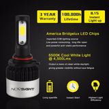 NOVSIGHT 9000LM 72W LED Car Headlight NOVSIGHT - NOVSIGHT