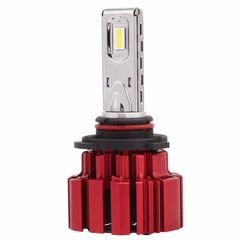 NOVSIGHT Red 80W 13600LM 9005 HB3 LED Headlight Light Bulb Driving Lamp Set 6000K