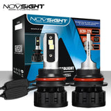 Novsight A500-N13-9007 No polarity 60W/Pair 8000LM/Pair 360°adjustable buckle Headlight