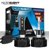 Novsight A500-N13-H3 No polarity 60W/Pair 8000LM/Pair Headlight