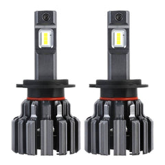 H7 Novsight LED Headlight Bulbs Conversion Kit Super Brightness 12000LM/Pair 6000K Xenon White Warranty 2 Year