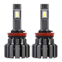 H11/H8/H9  Novsight LED Headlight Bulbs Conversion Kit Super Brightness 12000LM/Pair 6000K Xenon White Warranty 2 Year