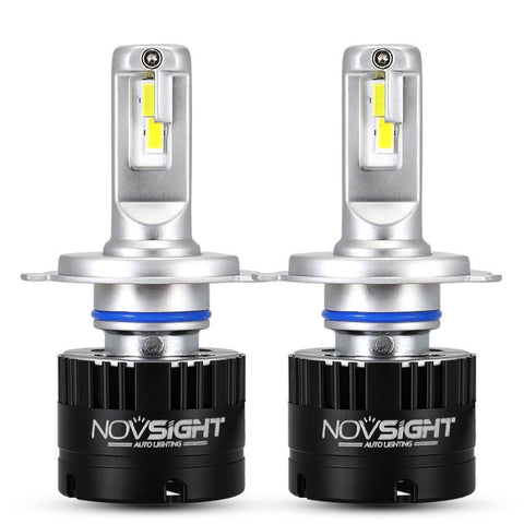 Novsight H4 LED Headlight 360° rotatable buckle 80W/Pair 7000LM/Pair 5500K White