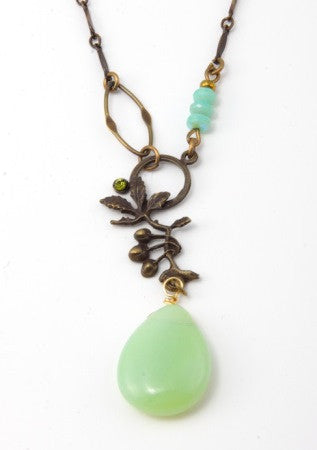 Mint Drop Pendant