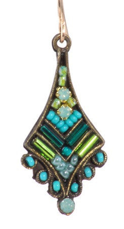 Spire Earring in Turquoise