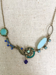 Wisp Necklace in Blues