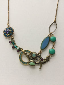 Helio Turquoise Blossom Necklace