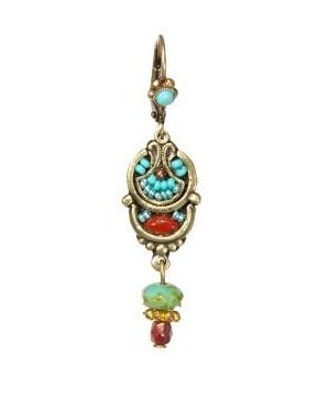 Bangkok Earring in Jasper