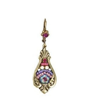 Empire Earring in Pink