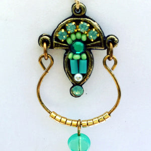 Isis Earring in Blue