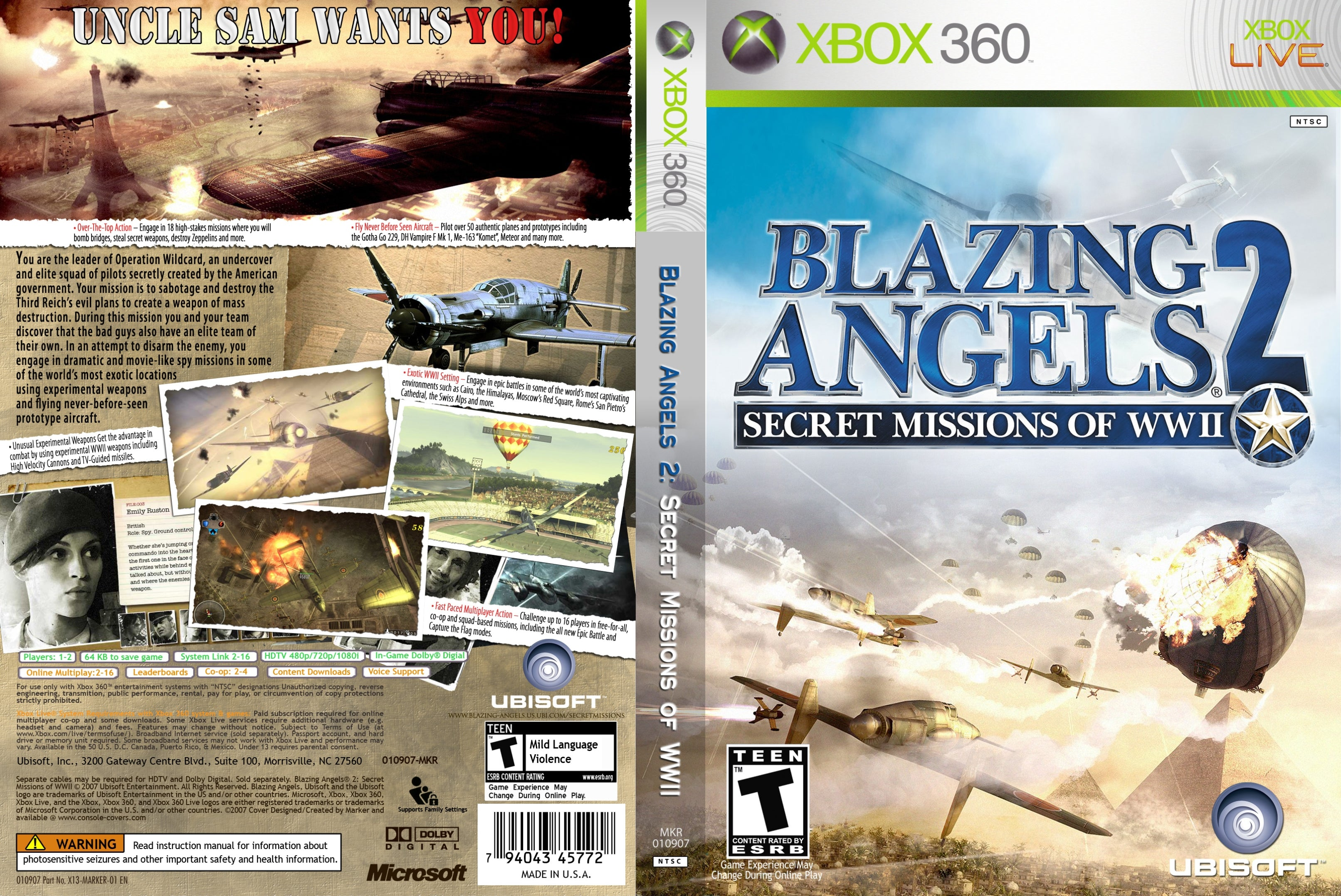 Cheats for blazing angels 2 pc.