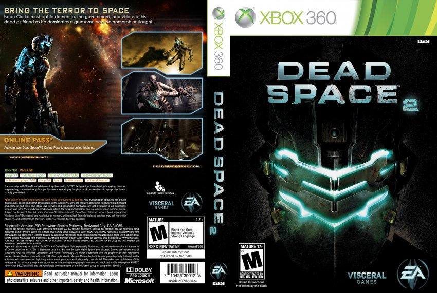 Dead space 2 game of the year edition xbox san manueal casino and hotel