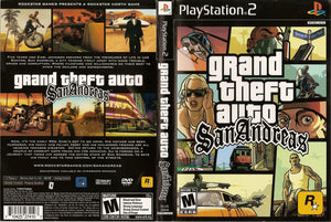 Grand Theft Auto San Andreas C BL PS2