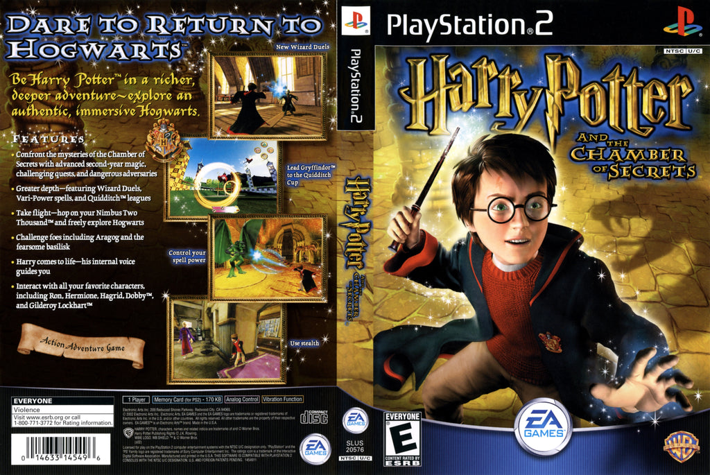 Harry Potter And The Chamber Of Secrets C BL PS2