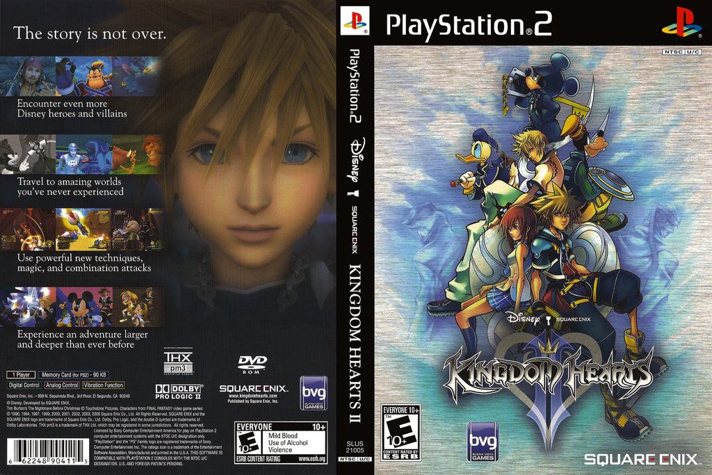 Kingdom Hearts 2 N BL PS2
