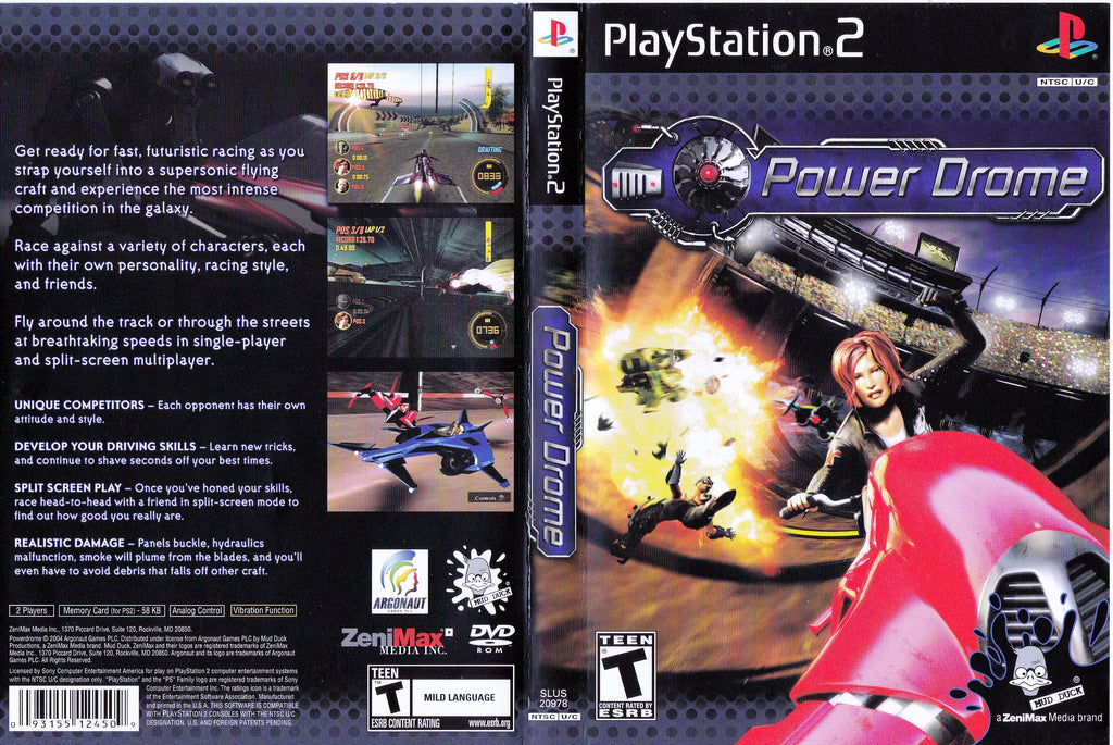 Power Drome N PS2