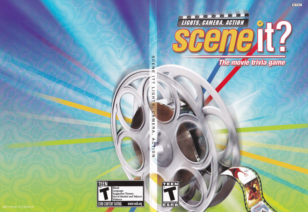 Scene It Lights, Camera, Action XBox 360