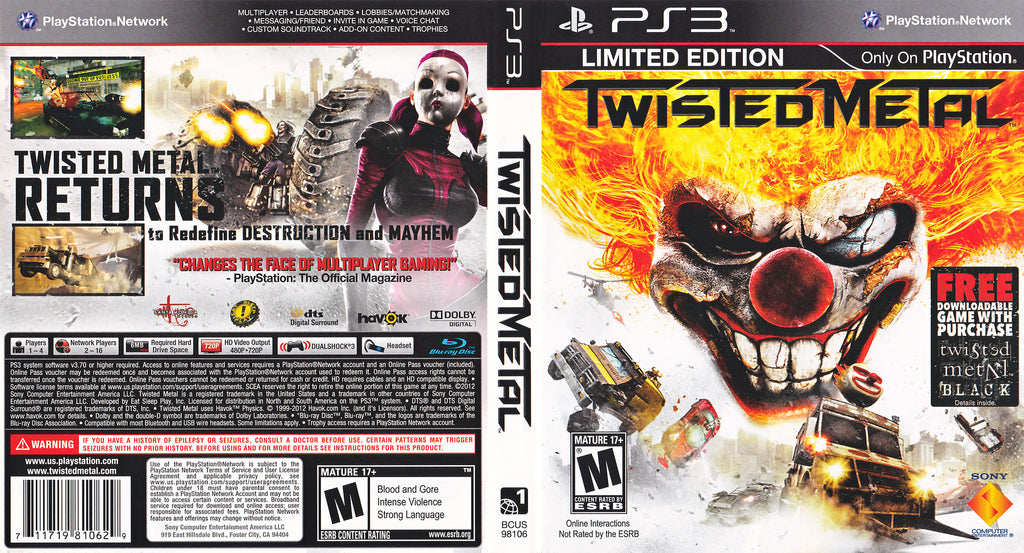 Twisted Metal PS3