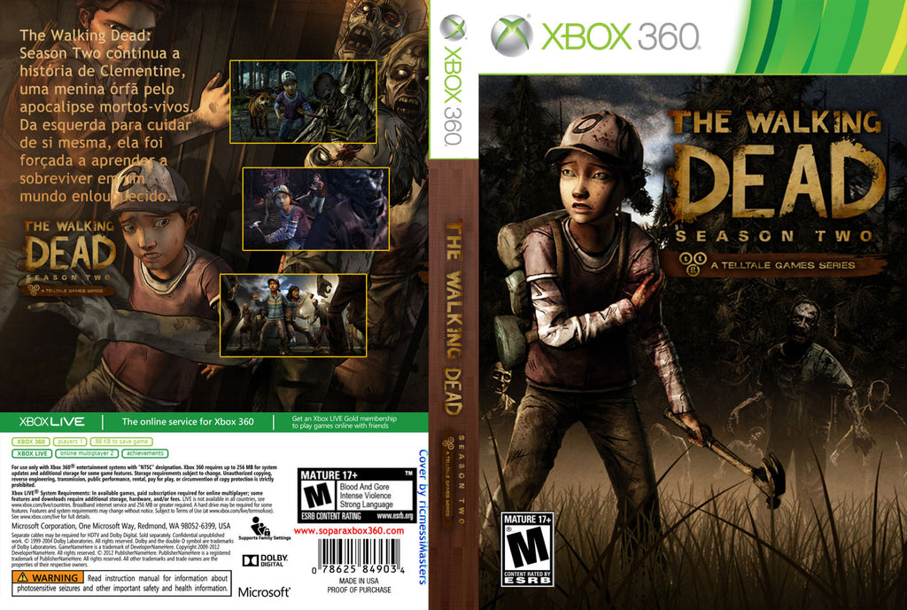 The Walking Dead: Season 2  Xbox 360
