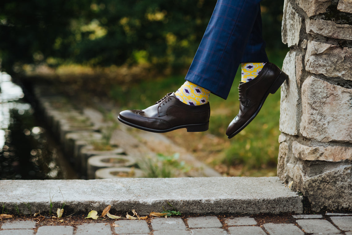 MEN'S SOCKS STYLE GUIDE Part 1