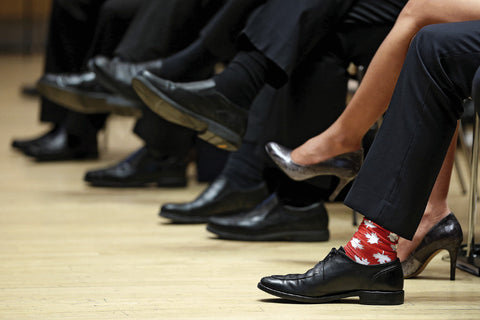 justin trudeau sock game spot on