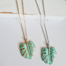 Monstera Long Necklace