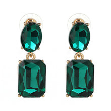 Festive Gem Drop Earrings