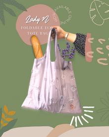 LadyN Foldable Eco Tote Bag